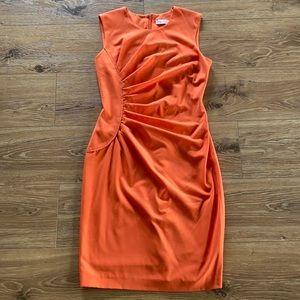 💥 Calvin Klein Orange Dress 💥
